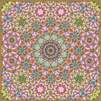 Mosaic 12643f framed