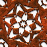 Metal Geometric Pattern detail 5