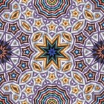 Tiling pattern of Prisma Color pencils